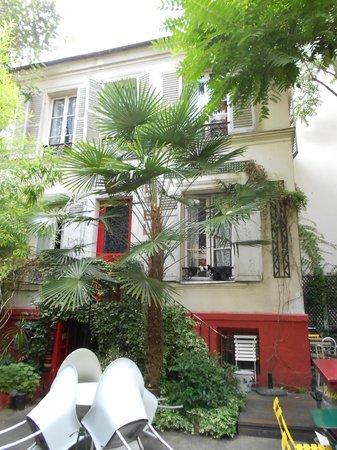 Hotel Eldorado: der Innenhof