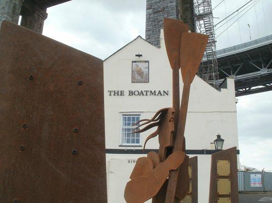 Ferryman Sculpture: The Boatman and the boatman