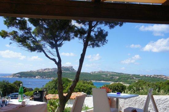 Hotel La Coluccia : vue sur les iles
