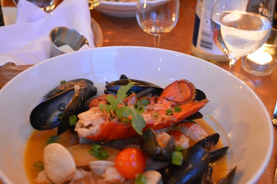 Chez Mathilde : Seafood curry - highly recommended!