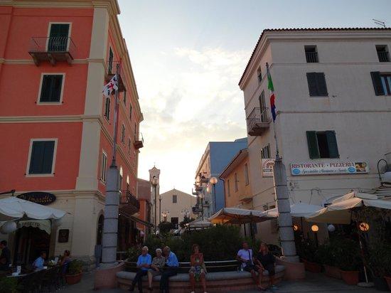 Hotel La Coluccia : le village de santa teresa di gallura