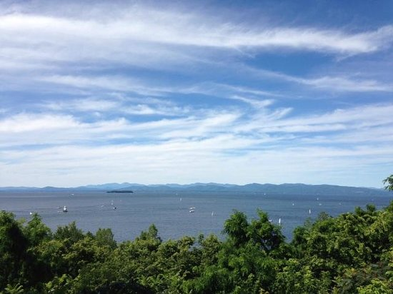 One of a Kind Bed and Breakfast: View of Lake Champlain