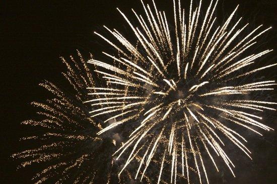 Niagara Falls Walking Tours: Fireworks over the Niagara Falls, September 1, 2013