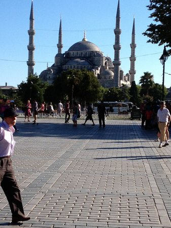 Harem Hotel: blue mosque