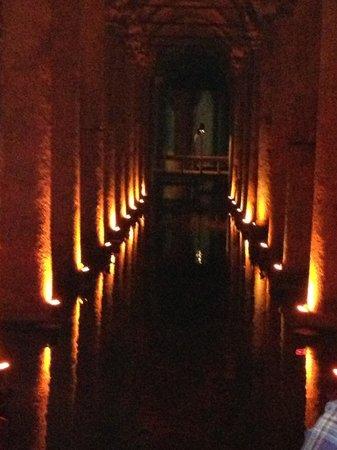 Harem Hotel: basilica cistern