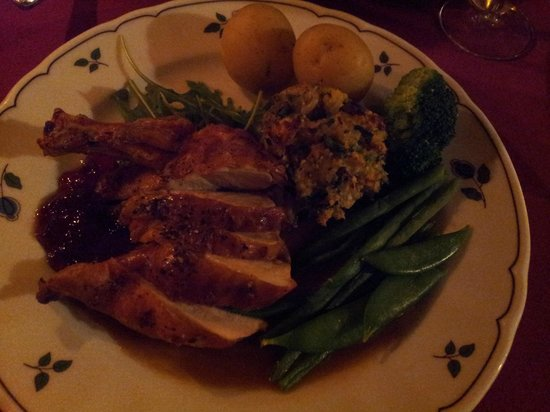 The Fountain House and Dedham Hall: Guinea Fowl