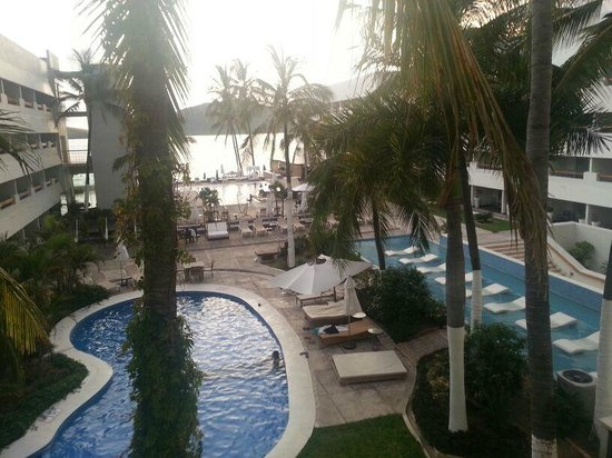 Emporio Mazatlan: Vista desde el cuarto