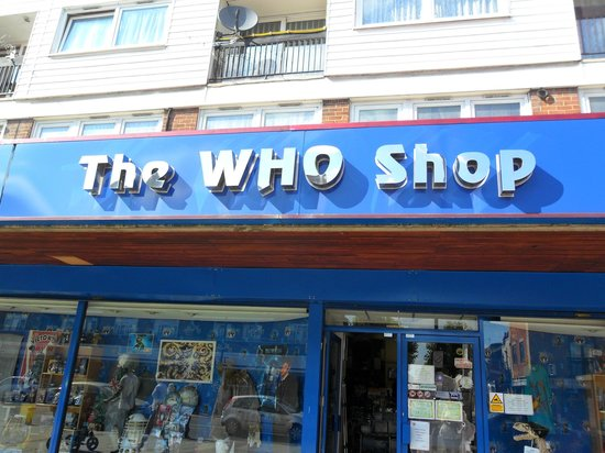 ‪The Who Shop‬