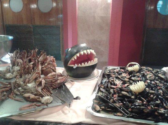 Gran Hotel Europe Comarruga: buffet