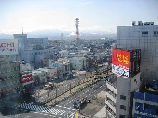 Richmond Hotel Aomori: View over Aomori from our room