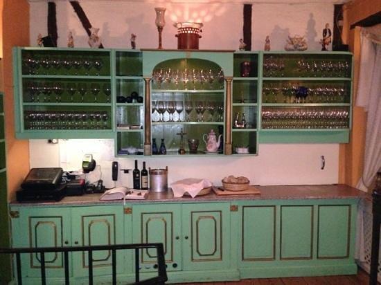San Giorgio: decorative kitchen
