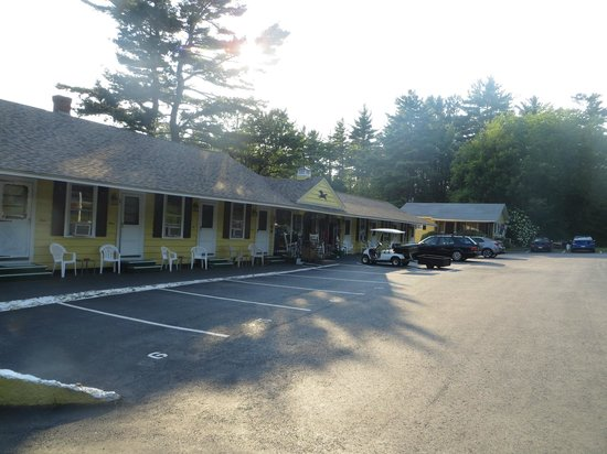 Lake Winnipesaukee Motel: Hotel site