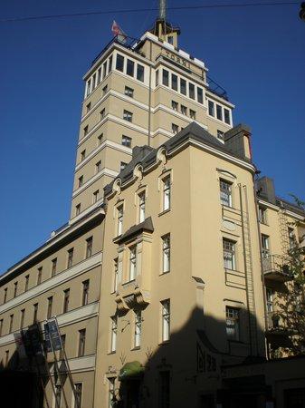 Solo Sokos Hotel Torni: 背が高いの