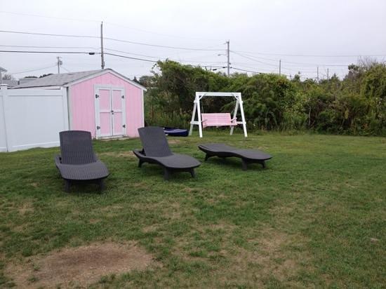 Sea Shell Motel: chaise