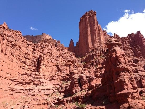 Fisher Towers: further from the parking lot - 45 minute hike