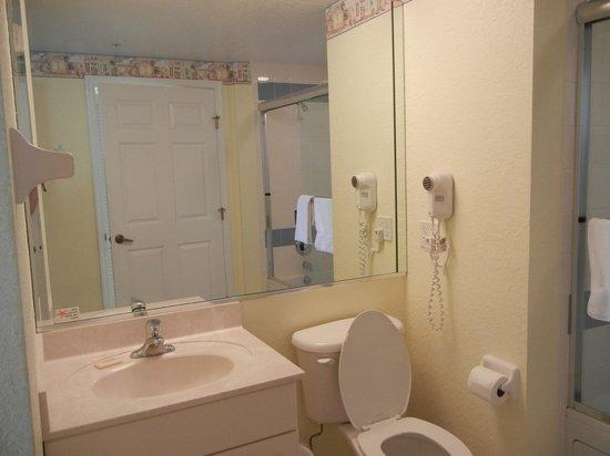 The Cove on Ormond Beach : second bathroom