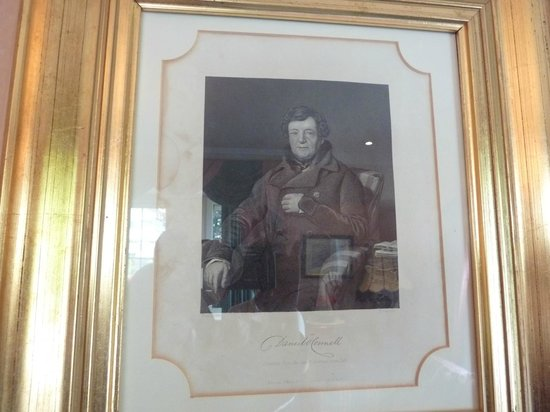 Killarney Lodge : Daniel O'Connell in the Sitting Room