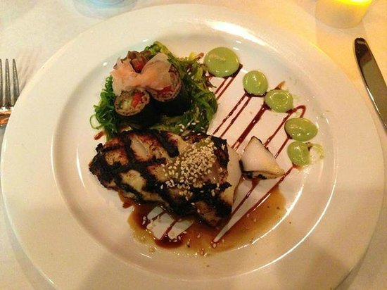 Blue Ginger: Butterfish Entree during Restaurant Week
