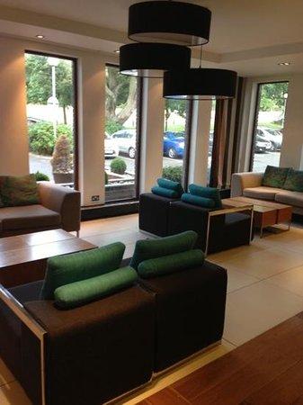Edinburgh Capital Hotel: reception area!