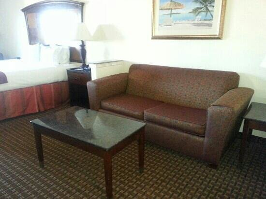 Holiday Inn Express Hotel & Suites- South Padre Island: king suite