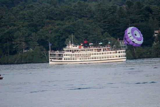 The Georgian Lakeside Resort: view
