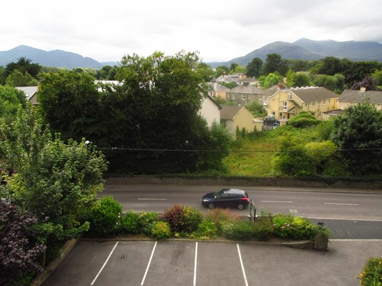Woodlawn House Killarney: View from our room