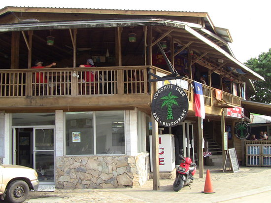 Coconut Tree West Bay: Bar and restaurant.