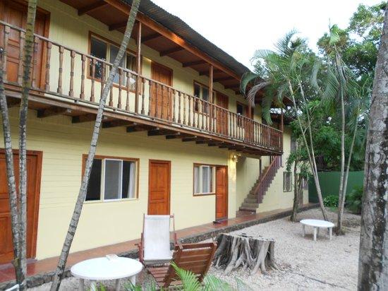 Hotel Brasilito : Blick aufs Hotel