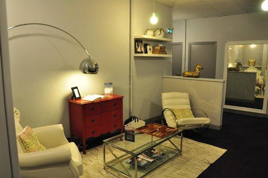 Hotel Colette: salon