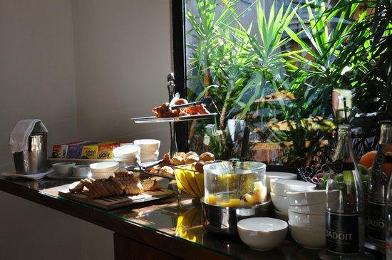 Hotel Colette: petit dejeunée