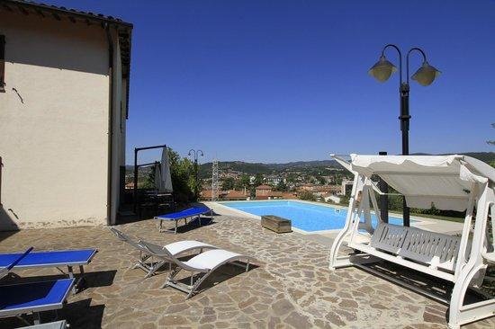 Villa Acquafredda: esterno piscina
