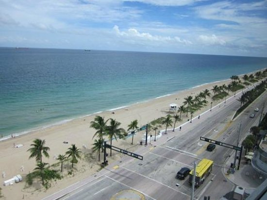 Sonesta Fort Lauderdale Beach: vista do quarto