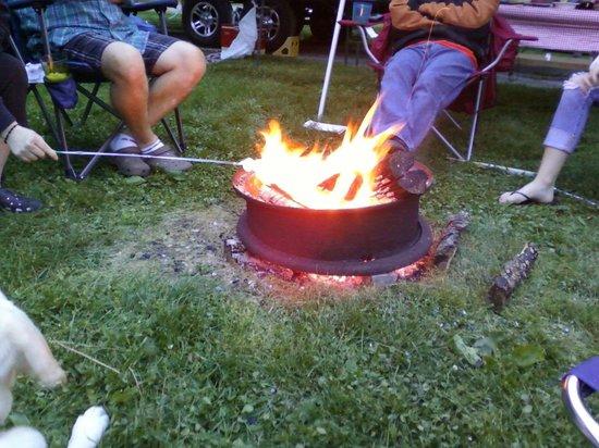 Springfield Koa: Great campfire with friends