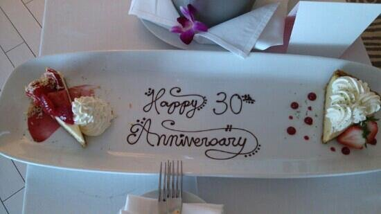 W South Beach: 30 years married compliments of the W hotel.