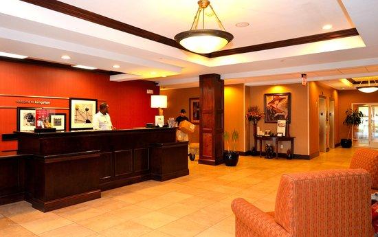Hampton Inn Kingston : Lobby