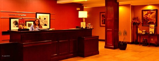 Hampton Inn Kingston : Check in