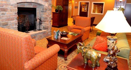 Hampton Inn Kingston : Sitting area