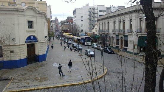ViaVia Buenos Aires: Vista para o Paseo de la Historieta