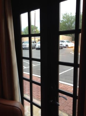 """Inn and Spa at Loretto : view from a """"superior"""" room"""