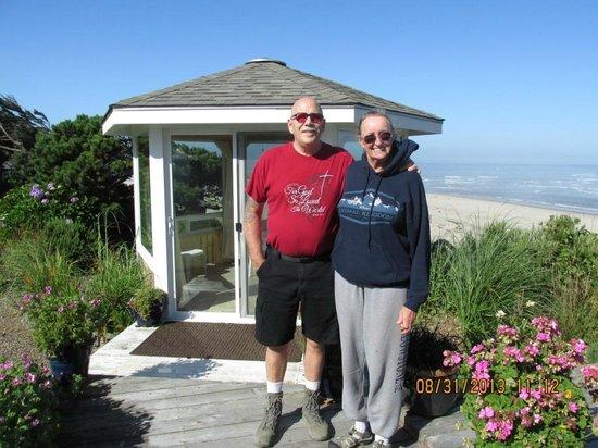 Cliff House Bed & Breakfast : In The Garden