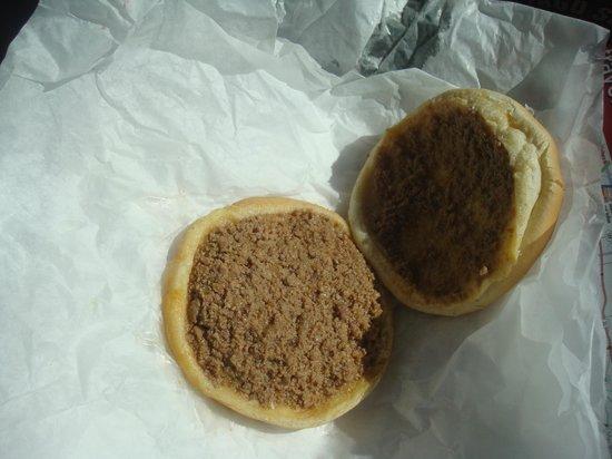 Leon's Frozen Custard Drive-in : A burger?