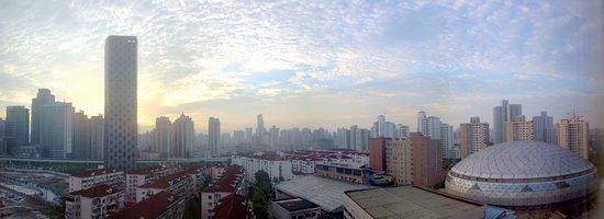 Mercure Shanghai Royalton: 部屋の窓からの眺め