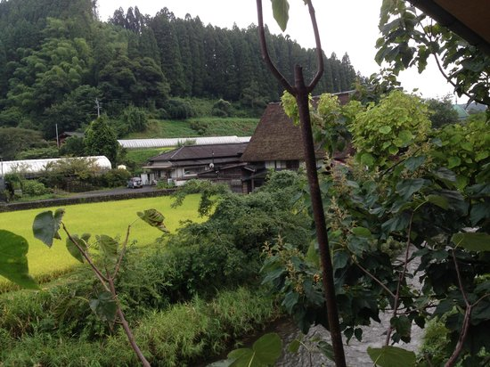 Sankoen: 部屋からの窓景