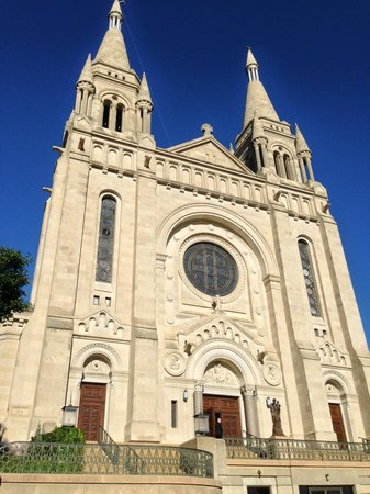 St. Joseph Cathedral: Exterior of Catheral