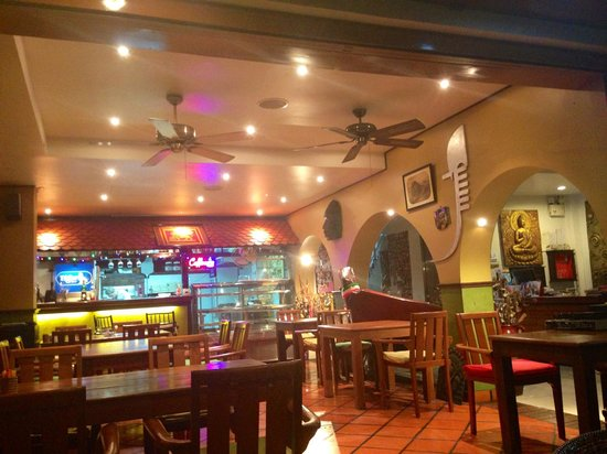 Casa e Mare: Restaurant/lobby
