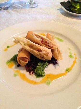 Jesse's Restaurant: Duck Spring Rolls