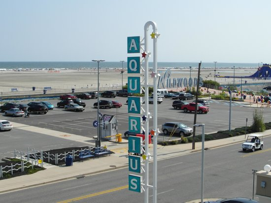 Aquarius Motor Inn: View from our balcony