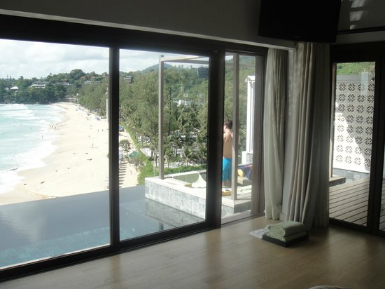 The Shore at Katathani: View from beside the bed