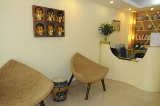 Joseph's Hotel : Our reception area