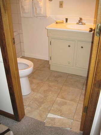 Sunnyside Knoll Resort : 70s bathroom